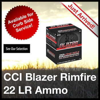 CCI Blazer Rimfire 22 LR Ammo