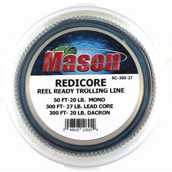 Mason Redicore Pre-Rigged Braided Trolling Line 300yds 27lb