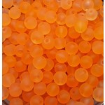 Creek Candy Beads 10mm Frosty Brown Roe #108
