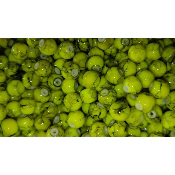 Creek Candy Beads 6mm Toxic Chartreuse #123