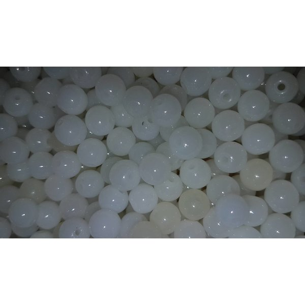 Creek Candy Beads 6mm Natural Smoke White #189