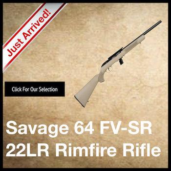 Savage Model 64 FV-SR Rifle