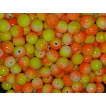 Creek Candy Beads 8mm Candy Corn #102