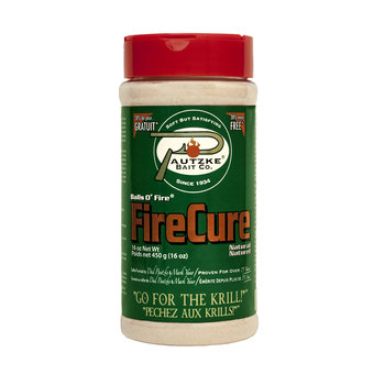 Pautzke Bait Co. Fire Cure. Natural Colour 16oz