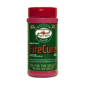 Pautzke Bait Co. Fire Cure. Pink Colour 16oz