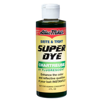 Atlas-Mike's Brite & Tight Super Dye Chartreuse 4oz