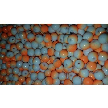 Creek Candy Beads 6mm Orange Crush #182