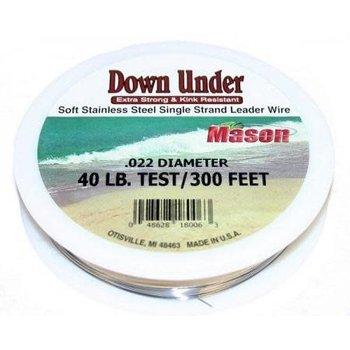 Mason Down Under 20lb Trolling Wire 300'