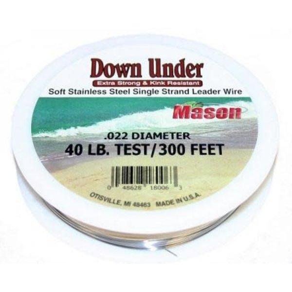 Mason Down Under 15lb Trolling Wire 300'