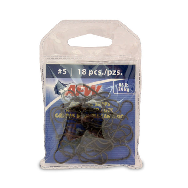 American Fishing Wire Duo Lock Snap #3 36-pk 40lb