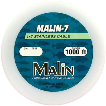 Malin 7 Strand Stainless Steel Wire 30lb 1000ft