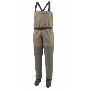Simms Men's Tributary Waders. Stocking Foot Tan L