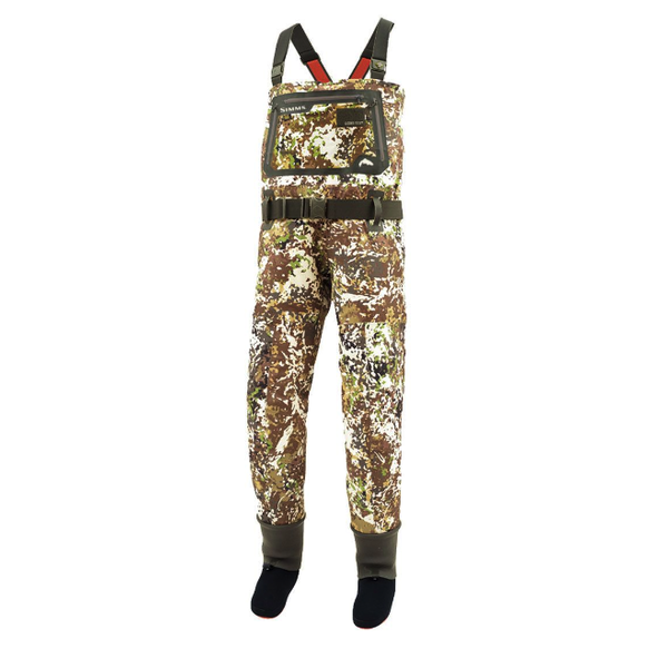 Simms G3 Guide River Camo Waders Stocking Foot L River Camo