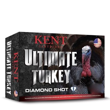 "Kent Ultimate Diamond Turkey Shot Ammo 12ga 3"" 1-3/4oz #5 Shot 10 Rounds"