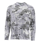 Simms SolarFlex Hoody Print XXL Cloud Camo Grey