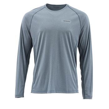 Simms SolarFlex LS Crewneck Solid XL Storm Heather