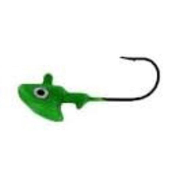 Erie Dearie Fishing Lures Hog Hunter Jig 1/4oz Grn. Chartreuse
