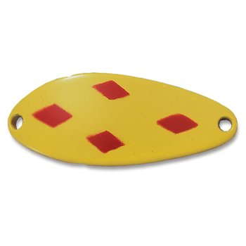 "Acme C200-YRD Little Cleo Spoon, 2 1/8"", 2/5 oz, Yellow & Red Diamonds"