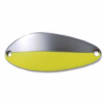 Acme Little Cleo 2/5oz. Nickel with Chartreuse Stripe