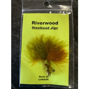 Riverwood Steelhead Jig Olive Brown
