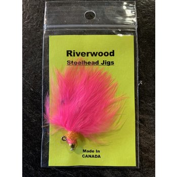 Riverwood Steelhead Jig Ice Neck Pink
