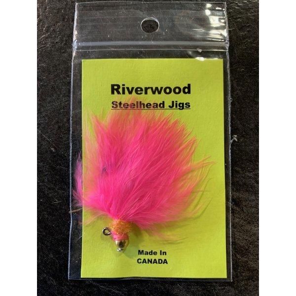 Riverwood Steelhead Jig Ice Neck Pink