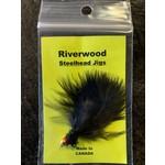 Riverwood Steelhead Jig Ice Neck Black