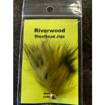Riverwood Steelhead Jig Olive Black