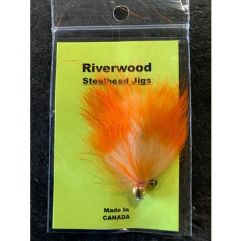 Riverwood Steelhead Jig Orange White