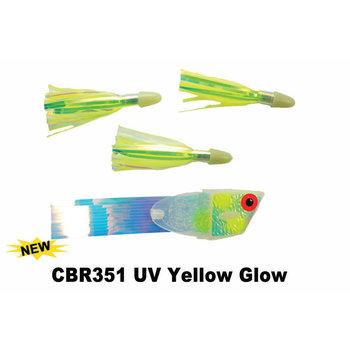 Dreamweaver Cut Bait Meat Rig Twinkie Style. Yellow Glow