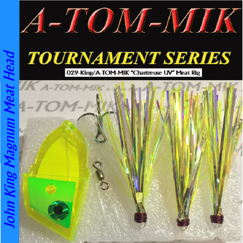 A-Tom-Mik Meat Rig Chartreuse UV