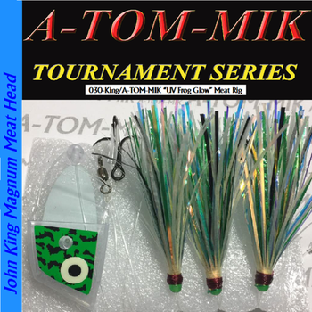 A-Tom-Mik Meat Rig UV Glow Frog