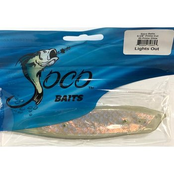 "Soco Baits Prime Cut 5-1/2"" Prime Glo Lights Out"