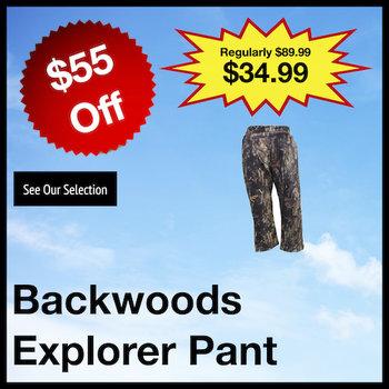 Backwoods Explorer Lightweight Pant