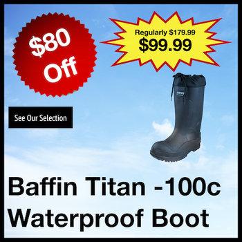Baffin Titan -100c Waterproof Boot