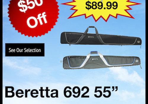 """Beretta 692 55"""" Soft Gun Cases"""