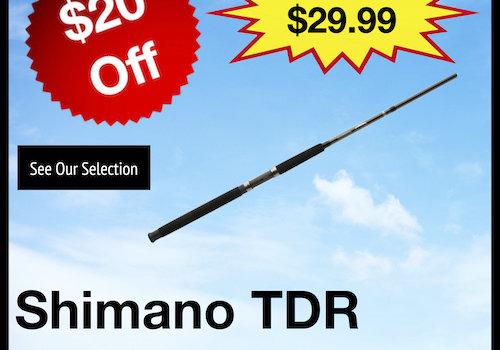 Shimano TDR Trolling Rods