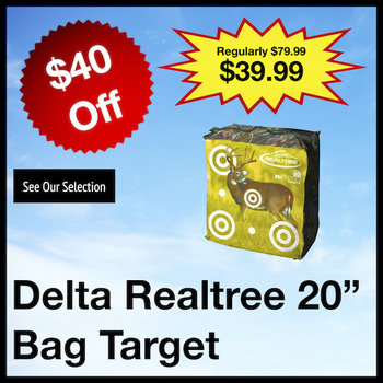 "Delta Realtree 20"" Bag Target"