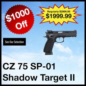 CZ 75 SP-01 Shadow Target II Pistol