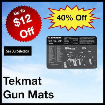 Tekmat Gun Cleaning Mats