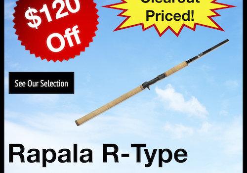 Rapala R-Type Rods