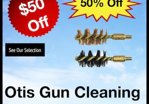 Otis Gun Cleaning Supplies