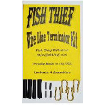 Fish Thief Wire Line Terminator Kit. 4-pk