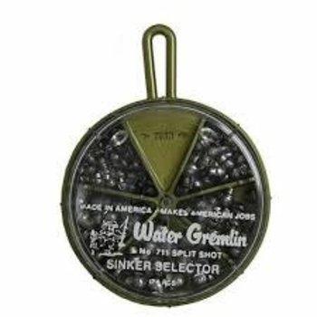 Water Gremlin Split Shot Sinker Selector No 711