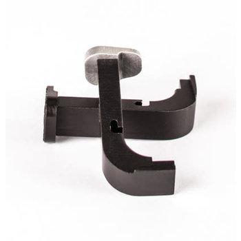 Zev Technologies Extended Mag Release 1st-3rd Gen Small Frame Glocks Black
