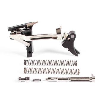 Zev Technologies Fulcrum Adjustable Trigger Ultimate Kit 1st-3rd Gen 9mm Black/Black