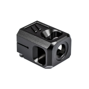 Zev Technologies Pro Compensator V2, 1/2X28 Threading, 9MM, Black