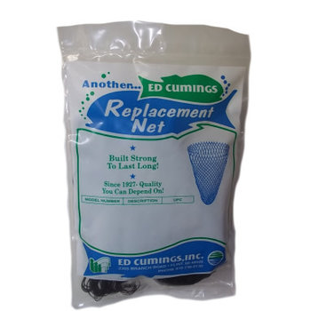 "Cumings Replacement Net 36"" Super Heavy Black Poly Firs 26"" x 22"" Dia"