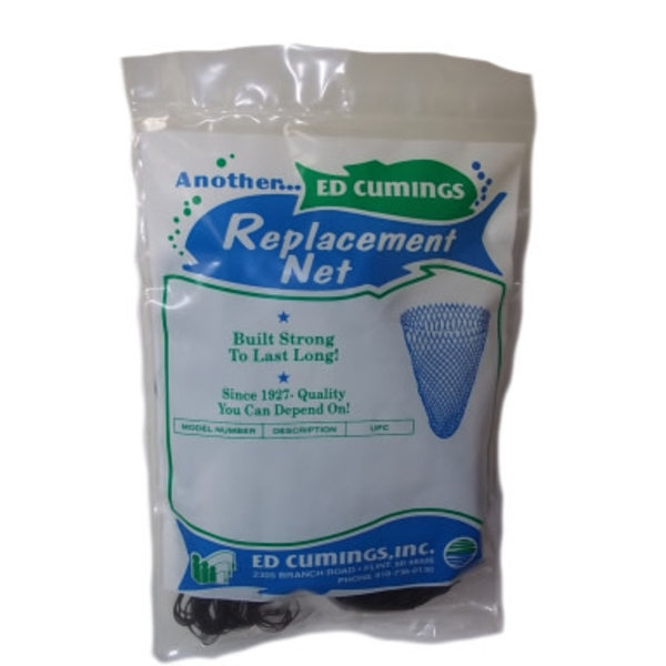 """Cumings Replacement Net 30"""" Black Poly Fits 19"""" Dia"""