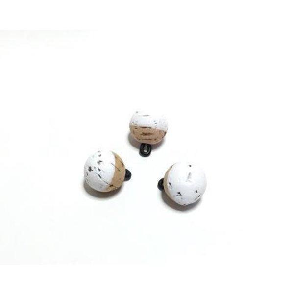 "CorQs Strike Indicator White 3/4"" 3-pk"